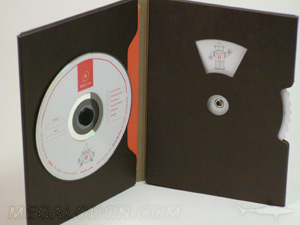 custom cd dvd replication die cut design